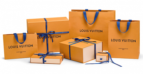 New look: Louis Vuitton introduces new packaging