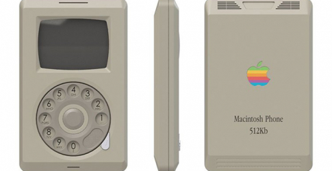 This is what the original Apple Macintosh iPhone could have looked like