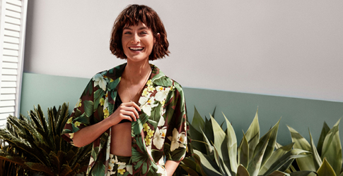 Mango has revealed a brand new tropical-focused collection just in time for summer
