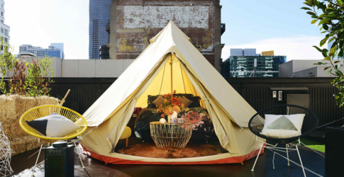 Melbourne introduces urban glamping with St. Jerome's: The Hotel