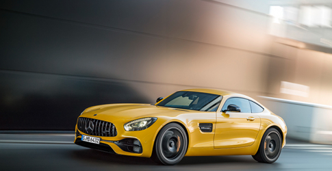 Mercedes unveils exclusive 50th anniversary limited edition AMG GT C