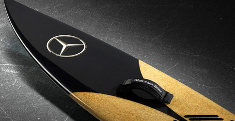Mercedes-Benz and Garrett McNamara's surfboard collaboration