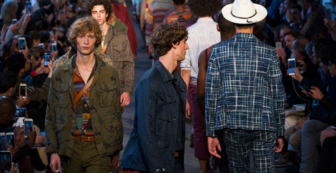 Men's Milan Fashion Week: Missoni Spring/Summer '17