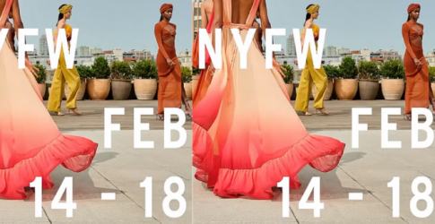 Yes, New York Fashion Week is still happening