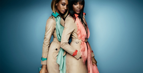 First look: Naomi Campbell and Jourdan Dunn in Burberry's new campaign