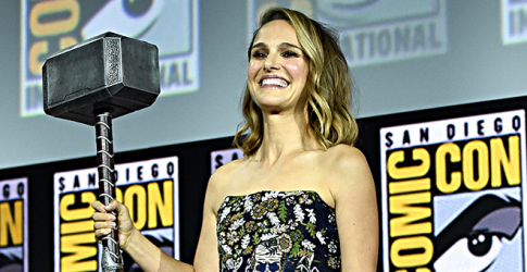 Natalie Portman has always had a little hammer in her as she settles in to play the new Thor