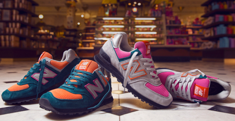 New Balance collaborates with Harrods