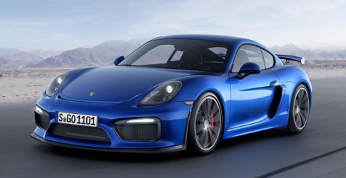 A look at the new Porsche Cayman GT4