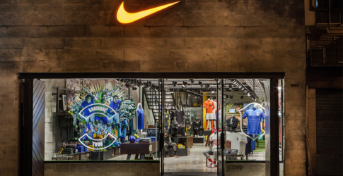 Nike opens its first football-only store in Brazil