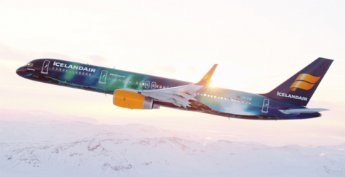 Icelandair launch new magical Northern Lights themed flight