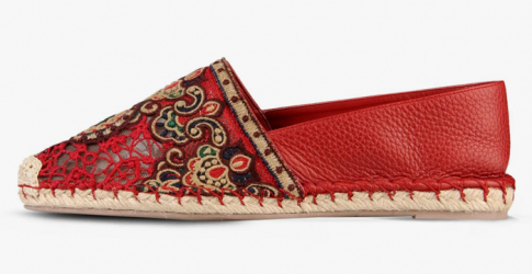 Object of desire: Valentino's embroidered leather espadrilles