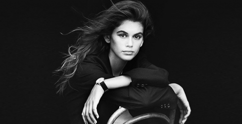 Kaia Gerber fronts campaign for Omega's new female watch collection, Trésor