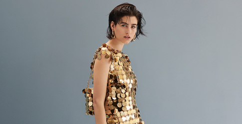 Chainmail done right in Paco Rabanne's exclusive collection on Matchesfashion.com