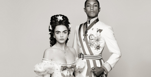 Pharrell Williams and Cara Delevingne star in Chanel's new film