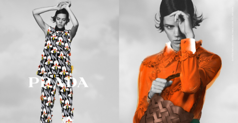 Prints, power and positivity are at the heart of Prada's Pre-Fall '20 collection