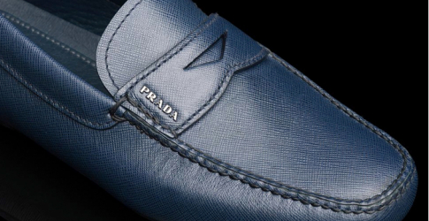 Watch now: The making of Prada's driving shoes
