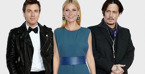 Mortdecai premieres in LA with Johnny Depp, Gwyneth Paltrow, Olivia Munn and more