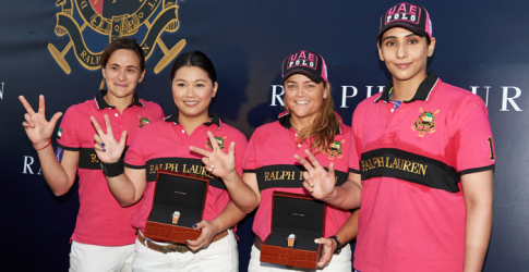 Ralph Lauren's second International Ladies Polo Tournament in Dubai