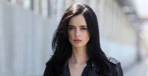 Krysten Ritters as Jessica Jones has just hit the small screen