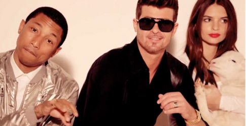 Pharrell Williams and Robin Thicke ordered to pay $7.3m to Marvin Gaye's family over 'Blurred Lines'