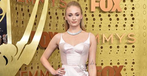 Sophie Turner rocks the first high jewellery piece designed by Louis Vuitton's Francesca Amfitheatrof
