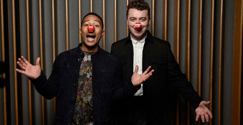 Sam Smith and John Legend unite for Red Nose Day duet