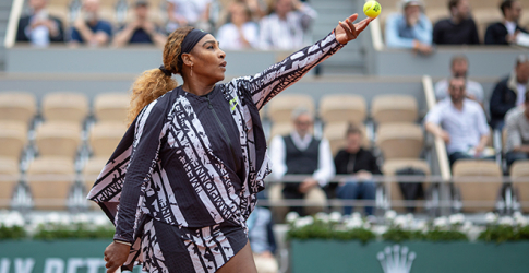 Serena Williams sent a message to her critics in a custom piece by Virgil Abloh