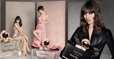 First look: Salvatore Ferragamo's new fragrance Signorina Misteriosa