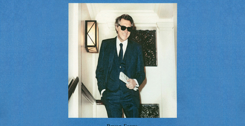 Singer Bryan Ferry covers the new Travel Almanac book