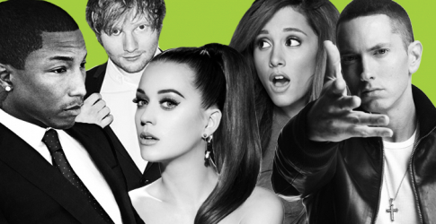 Spotify ranks the most popular music of 2014