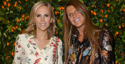 Anna Dello Russo does Doha with Tory Burch