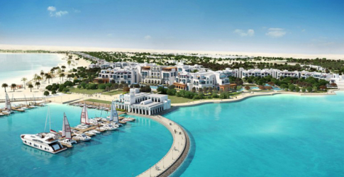 The largest beach resort in the Middle East is being build by Hilton