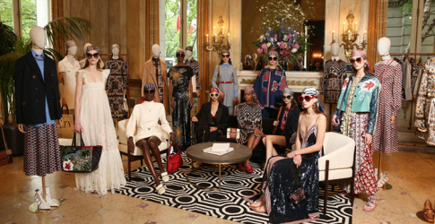 Pierpaolo Piccioli showcased his Resort '19 collection for Valentino in New York