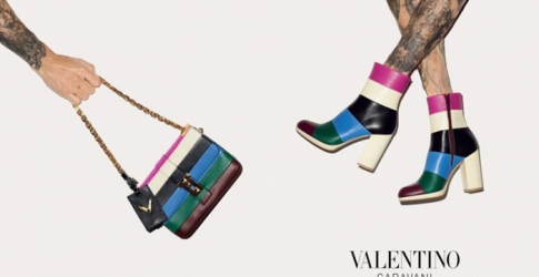 Valentino debuts new accessories campaign for Autumn/Winter 15