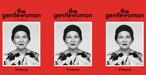 Vivienne Westwood covers 'The Gentlewoman' magazine