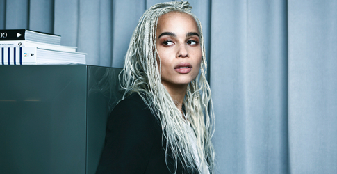 """Nothing is forced, nothing is fake but everything is bold, strong and unafraid\"" – Zoe Kravitz on YSL Beauty"