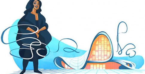 Google celebrates Zaha Hadid with illustrated tribute