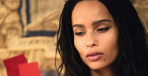 Zoë Kravitz's lipstick line with YSL Beauty drops today
