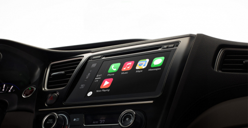 Volvo introduce Apple's new CarPlay