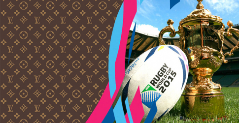 The winning try: Louis Vuitton designs case for Rugby World Cup 2015