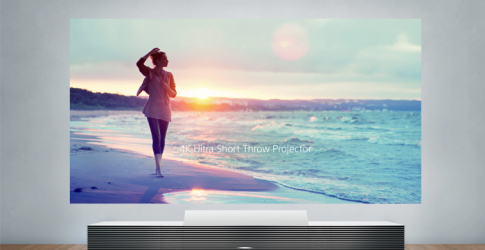 Sony's new 4K Ultra Short Throw Projector