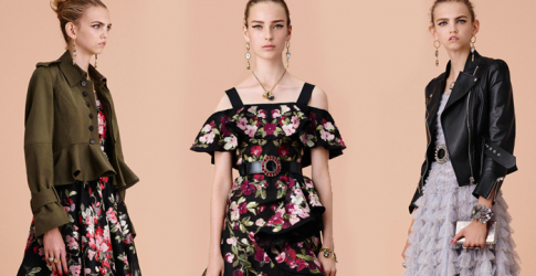 First look: Alexander McQueen Cruise 2016