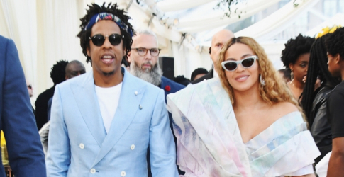 Beyoncé and Jay Z just paid tribute to Meghan Markle at the Brit Awards