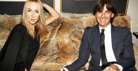 This is what Frida Giannini wore to marry Patrizio di Marco