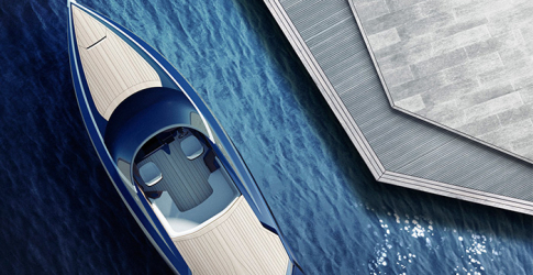 Take a look at the super slick Aston Martin speedboat