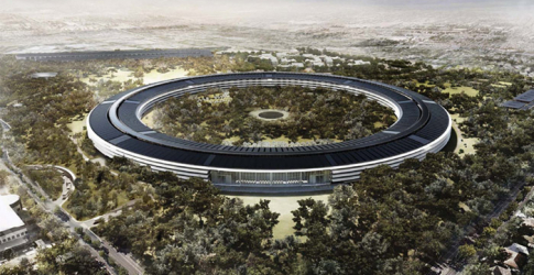 Video: See Apple's spaceship-esque Campus 2 taking shape