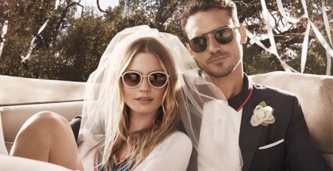 Behati Prinsloo and Arthur Kulkov star in Tommy Hilfiger's new eyewear campaign