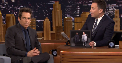 Ben Stiller talks about the Zoolander Valentino runway appearance