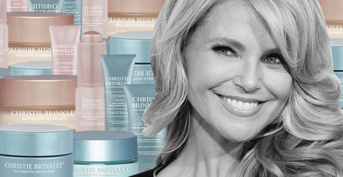 Christie Brinkley to launch her own skincare line