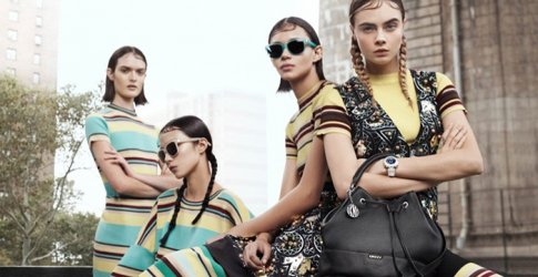 Cara Delevingne leads the pack for DKNY Spring 2015
